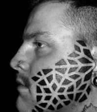 ink-on-face